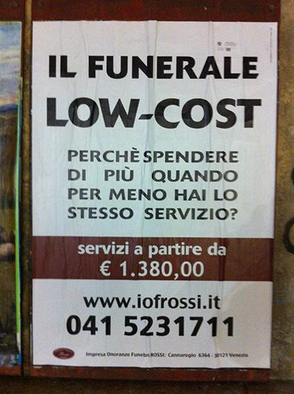 Funerale low-cost