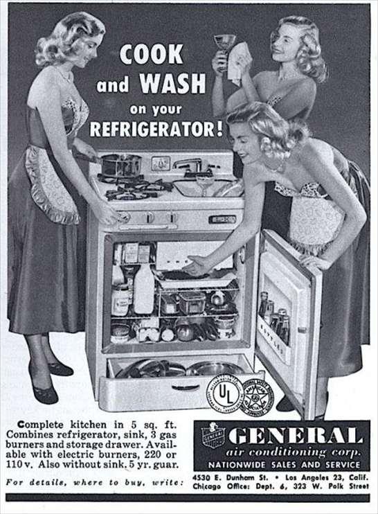 Frigo-cucina-lavello